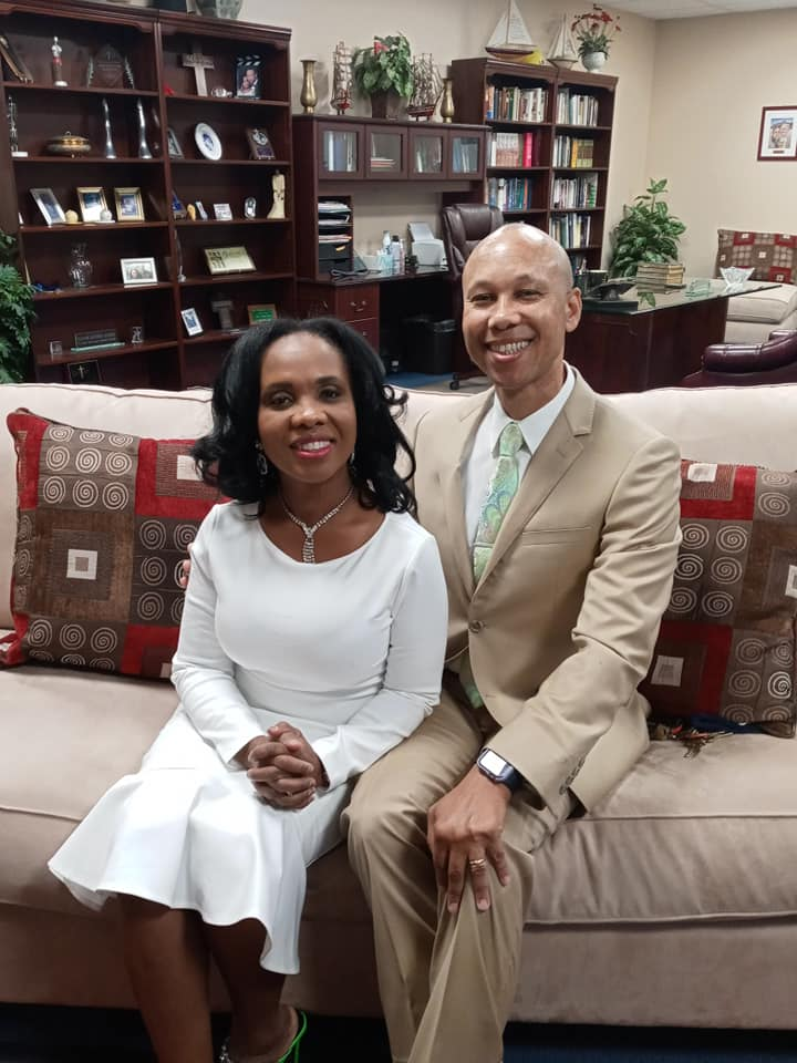 Dr. Antonio M Alfred and Wife